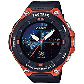 Casio Men's 'Pro Trek' Resin Outdoor Smartwatch review